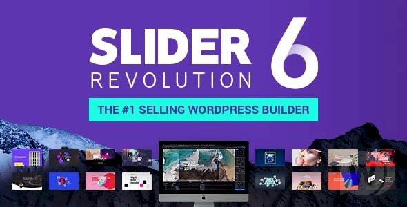 Slider Revolution  v.6.2.3 Nulled – Full Pack