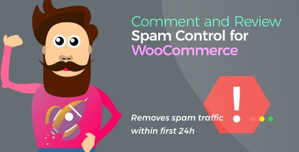 Comment and Review Spam Control for WooCommerce v.1.2.1 Nulled