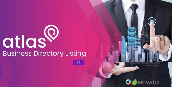 Atlas Business Directory Listing v.2.2 Nulled