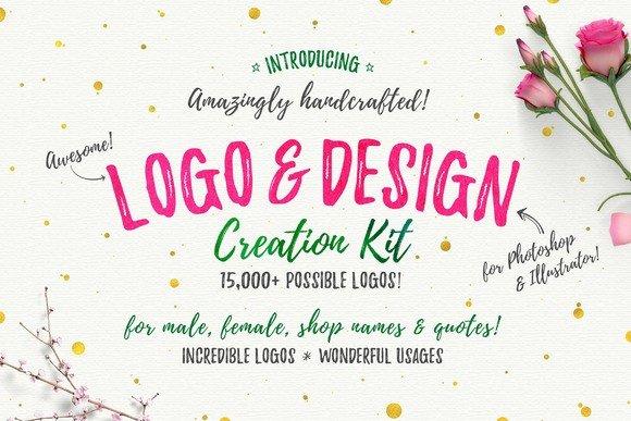 CreativeMarket – Awesome Logo & Design Creation Kit