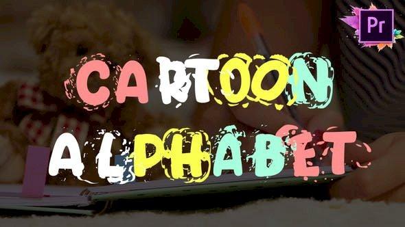 Cartoon Alphabet Premiere Pro MOGRT 25622956