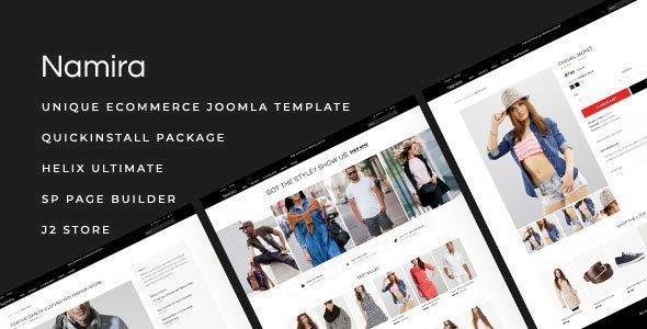 Namira v1.1.2 – Unique eCommerce J2Store Joomla Template
