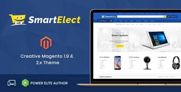 SmartElect v1.0 – Responsive Magento 1 & 2 Theme