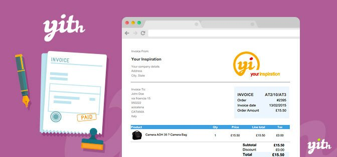 v2.0.15.1 – YITH WooCommerce PDF Invoice – Nulled and Shipping List Premium Free Download