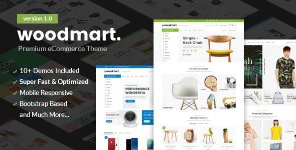 WoodMart Nulled v5.0.1.1- Responsive WooCommerce WordPress Theme Free Download