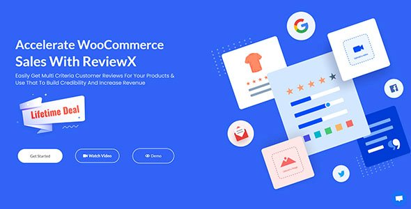 ReviewX Pro – Accelerate WooCommerce Sales With ReviewX v1.0.18 Nulled
