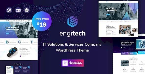 Engitech – IT Solutions & Services WordPress Theme v1.1.1