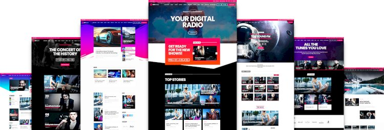ProRadio – Radio Station WordPress Theme v1.4.1