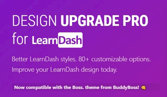 Design Upgrade Pro for LearnDash 2.13