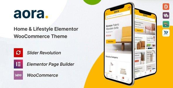 Aora – Home & Lifestyle Elementor WooCommerce Theme v1.0.7