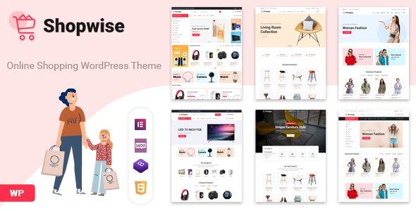 Shopwise – Fashion Store WooCommerce Theme v1.4.9