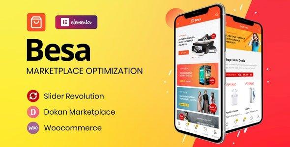 Besa – Elementor Marketplace WooCommerce Theme v1.3.2