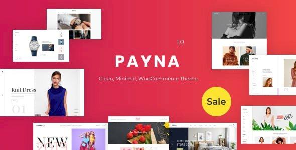 Payna – Clean, Minimal WooCommerce Theme v1.1.4