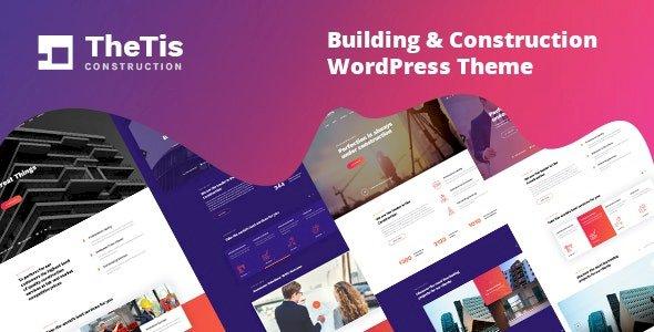 TheTis – Construction & Architecture WordPress Theme v1.0.4