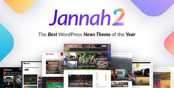 Jannah – Best Newspaper Magazine News BuddyPress AMP v5.4.4 Nulled