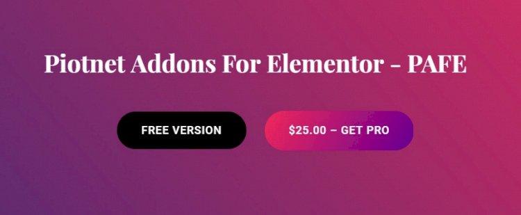 Piotnet Addons For Elementor (PAFE) v6.3.72