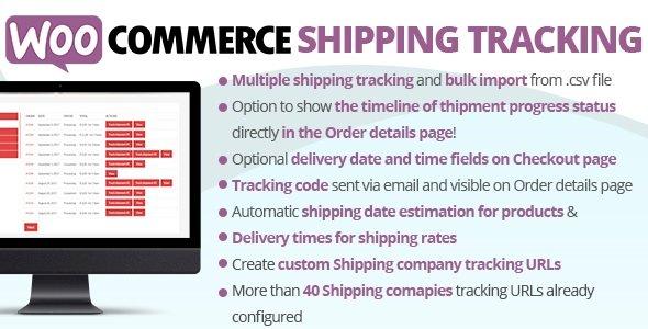 WooCommerce Shipping Tracking CodeCanyon v28.4