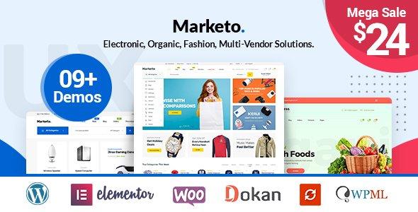 Marketo – ECommerce & Multivendor A Woocommerce WordPress Theme v3.5