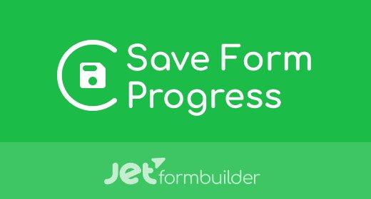 JetFormBuilder – Save Form Progress Addon v1.0.0