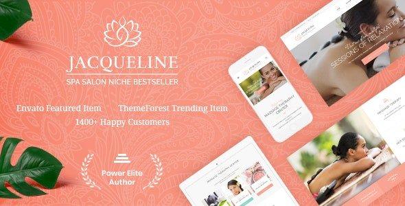 Jacqueline | Spa & Massage Salon Beauty WordPress Theme v1.6.5
