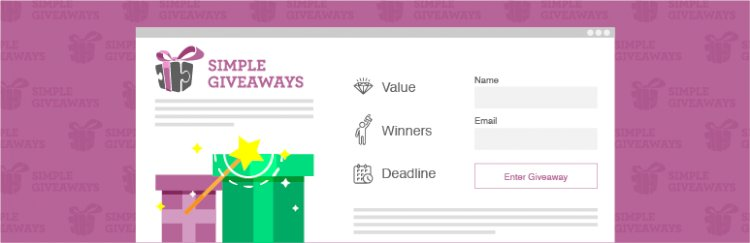 Simple Giveaways (Premium) – Create Beautiful Giveaways and Grow Your Email List v 2.37.0