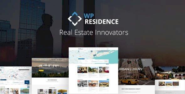 WP Residence – Real Estate WordPress Theme v3.8.0